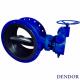 Затвор поворотный дисковый тип 027F фланцевый сталь