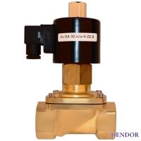 Клапан электромагнитный серии Vz муфтовый прямого действия